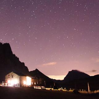 Abendstimmung am Rifugio Gardetta. Foto: Thorsten Brönner