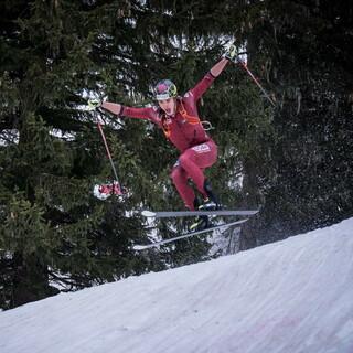 Stefan Knopf (DAV Berchtesgaden) beim Sprint in Flaine (FRA) - Foto: ISMF / Maurizio Torri
