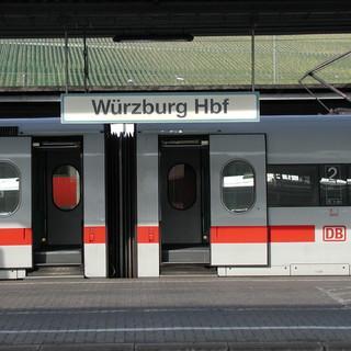 Bahnhof Würzburg, Bild: DAV Archiv