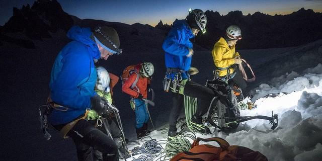 Bei einem Sichtungscamp werden die Athleten für die Expedkader ausgewählt. Foto: DAV / Silvan Metz