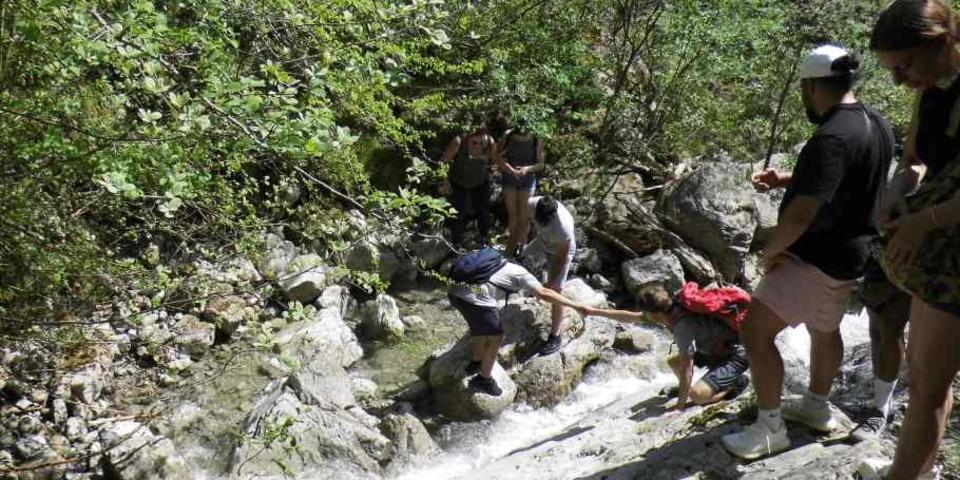 Azubitraining Flusswanderung; Foto: Jubi/Lena Peschke