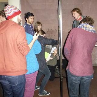 Die Foren waren sehr gefragt, alle tragen sich bei den Wunschthemen ein, Foto: JDAV/ Lena Glaeser