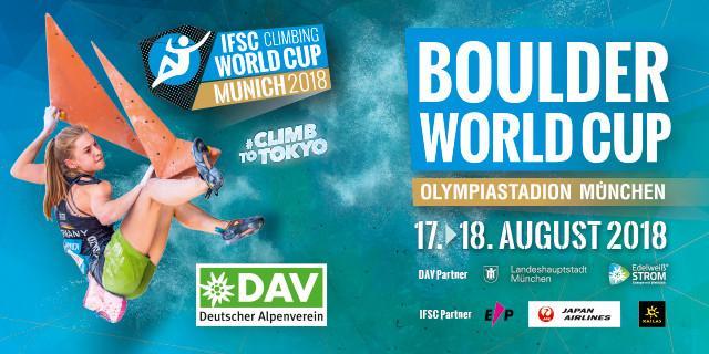 IFSC Boulder Worldcup Munich 2018