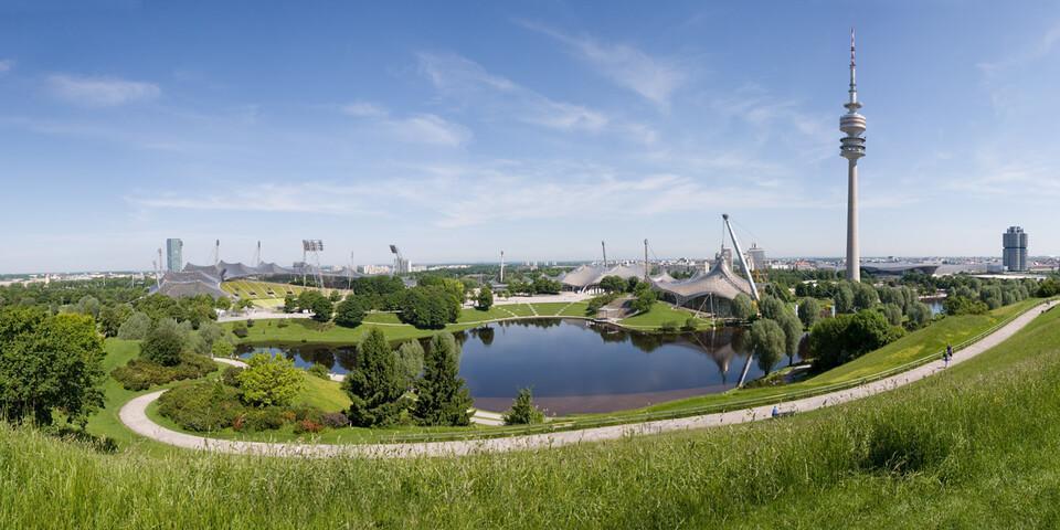 Der Olympiapark in München; Foto: Munich Olympic Park