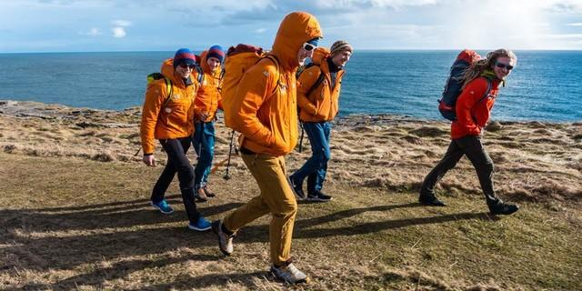 Der DAV-Expeditionskader Männer 2018 im Trainingscamp in Schottland, Foto: Michi Wärthl