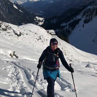 Über Ost- und Südhänge führt der Aufstieg auf die Rappenspitze im hintersten Lechtal. Foto: Luis Stitzinger, Alix von Melle