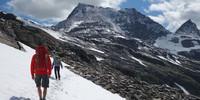 Restschneefelder sind in den Hochlagen der Hohe Tauern auch im Sommer möglich. Foto: Christof Herrmann