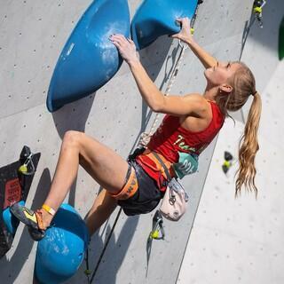 Hannah Meul zeigt solide Leistungen bei der DML. Foto: DAV/Marco Kost