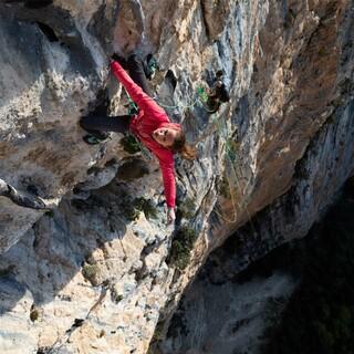 Anna Stöhr in der Route Ali Baba, Foto: SALEWA/Alpsolut Pictures