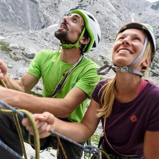 Immer mehr Menschen entdecken das Klettern für sich. Foto: DAV/Wolfgang Ehn