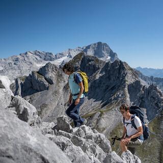 Es ist wie eine Reise zu sich selbst - das Weitwandern. Foto: ServusTV/ Andreas Kaboto Photography