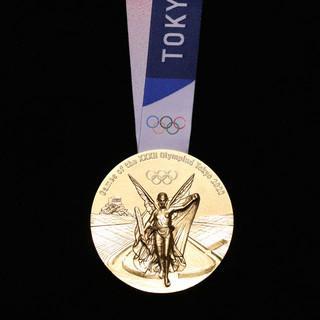 Die Goldmedaille. Foto: Tokyo 2020