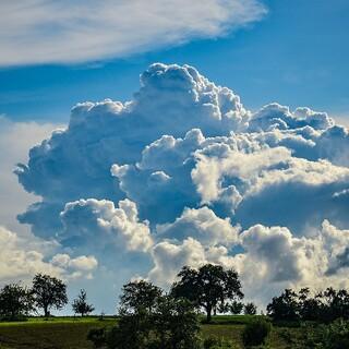 Gewitterwolke/Cumulonimbus. Foto: Wikimedia/David Kratschmann - Eigenes Werk, CC BY-SA 4.0