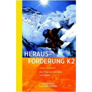 Buchcover Frau Bergsteigen: Herausforderung K2