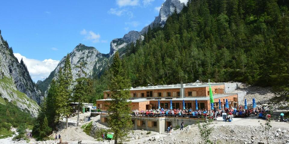 Höllentalangerhütte Foto: alpenvereinaktiv