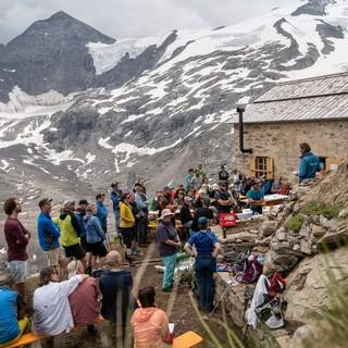 Eröffnung der Alten Prager Hütte, Foto: Fabian Dalpiaz