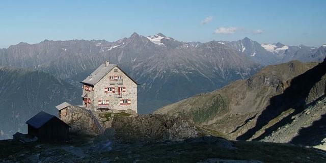 Erlanger Hütte im Ötztal, 2006, Foto: Norbert Freudenthaler