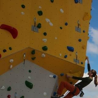 The Freimann climbing centre also offers lots of outdoor climbing areas.