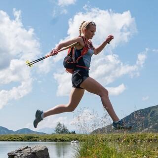 Tatjana Paller beim Sommertraining in Obertauern - Foto: Nils Lang