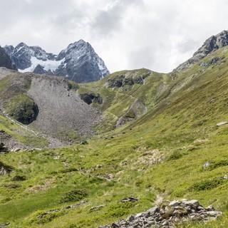 Zauberhafter Hüttenzustieg Richtung Kaunergart, Foto: DAV/Oliver Guse
