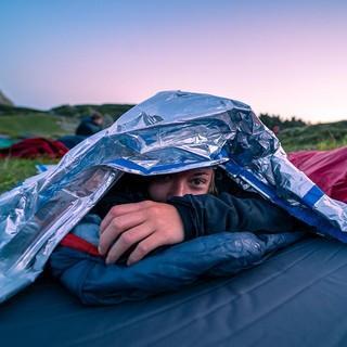 aufgewacht nach einer Nacht am Berg, Foto: JDAV/Silvan Metz