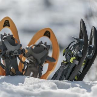 Schneeschuhe sind in verschiedenen Ausführungen erhältlich. Foto: DAV